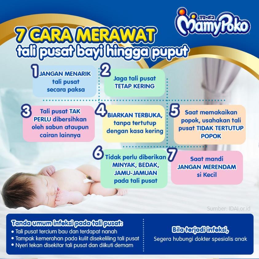 Cara Merawat Tali Pusat Bayi Hingga Puput Mamypoko Indonesia
