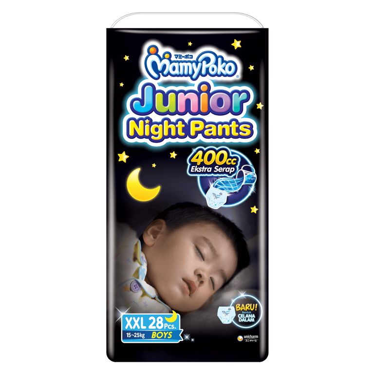 MamyPoko Junior Night Pants XXL Boy