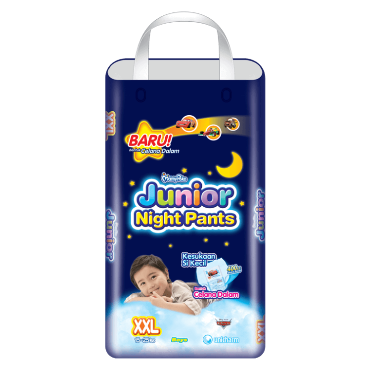 MamyPoko Junior Night Pants  (Celana Malam) XXL Boy