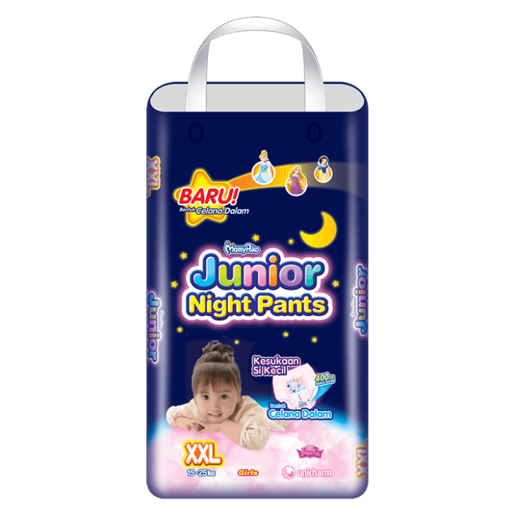 MamyPoko Junior Night Pants  (Celana Malam) XXL Girl