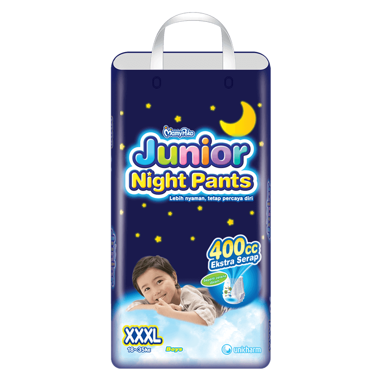 MamyPoko Junior Night Pants XXXL Boy