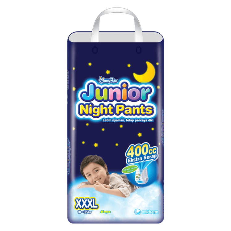 MamyPoko Junior Night Pants  (Celana Malam) XXXL Boy