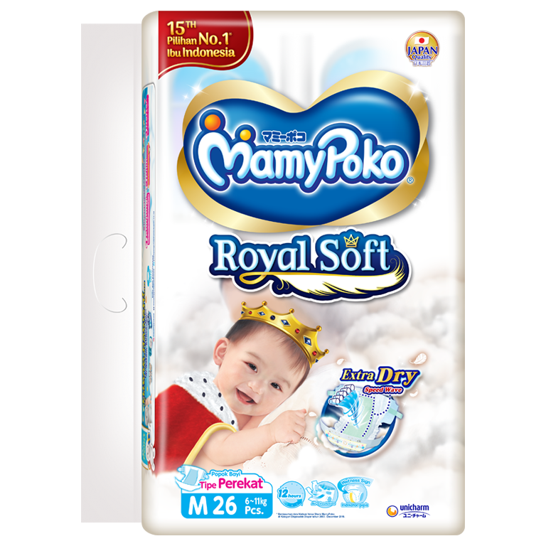 MamyPoko Royal Soft Tape