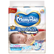 MamyPoko Royal Soft Tape (Newborn Size)