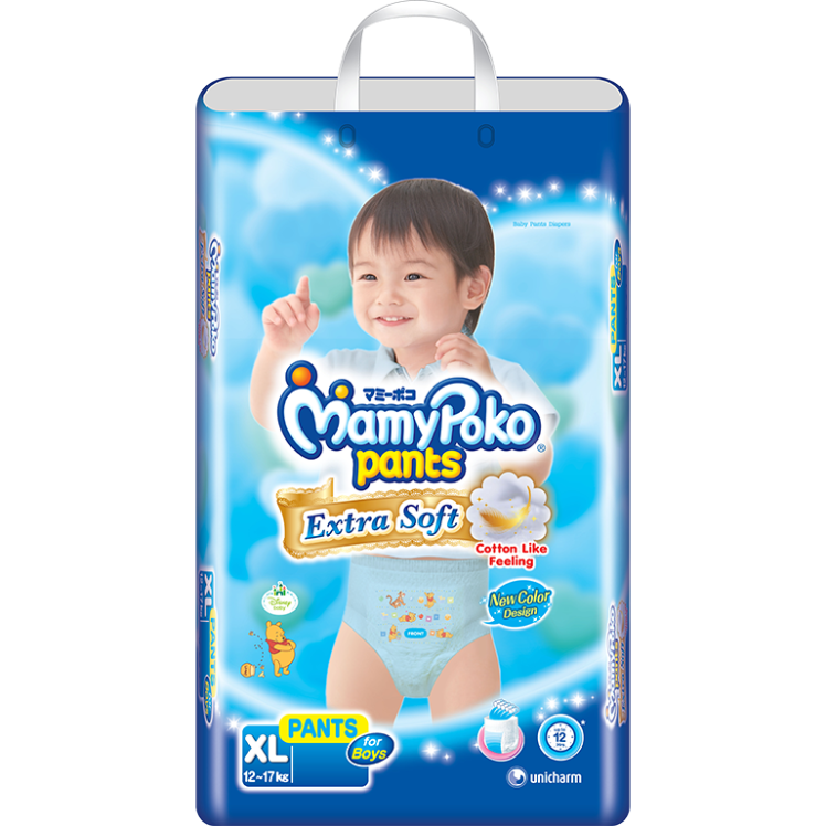 MamyPokoPants Extra Soft Ukuran XL Boy