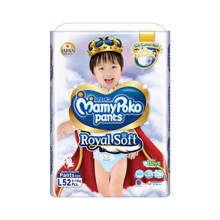 MamyPoko Pants Royal Soft l boy
