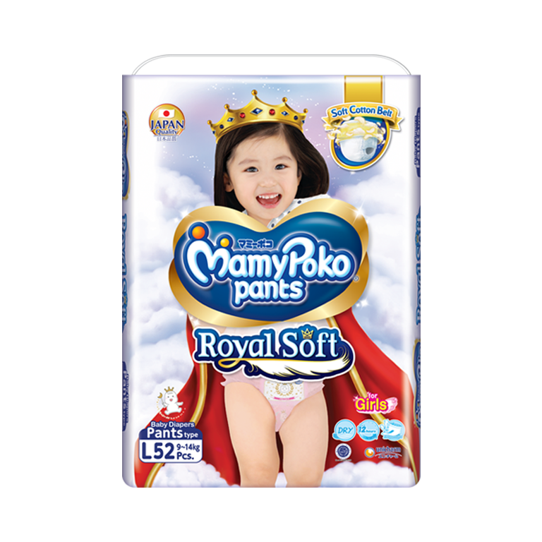 MamyPoko Pants Royal Soft l girl