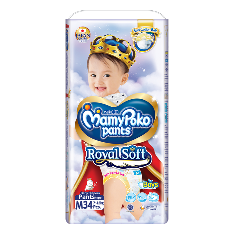MamyPoko Pants Royal Soft m boy