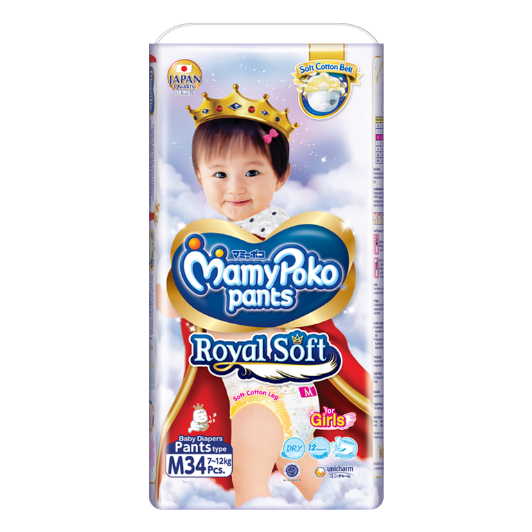MamyPoko Pants Royal Soft m girl