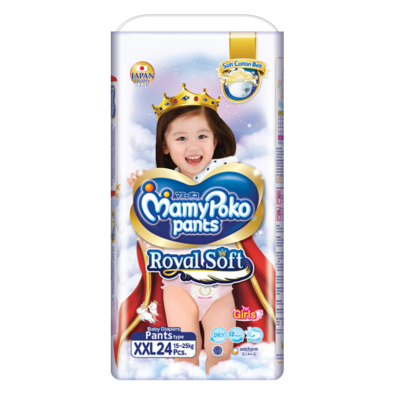 MamyPoko Pants Royal Soft xxl girl